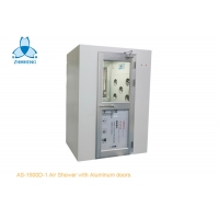 Buy cheap Single Person Cleanroom Air Shower With Aluminum Swing Doors product