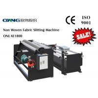 China Plastic Film Automatic Slitting Machine / PET Materials Slitting Rewinding Machine on sale