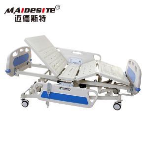 ICUのABS頭板の電気病院用ベッド調節可能な多機能