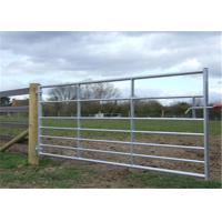 Durable Metal Corral Panels Customized Size Easy Handling With Hinge Joint