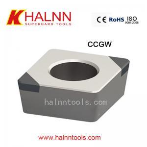 Partes movibles del compuesto PCBN de CCGW BN-H10 difícilmente a dar vuelta el alto engranaje de la dureza de acero