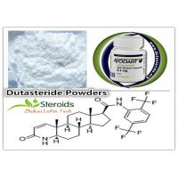 Buy cheap Healthy Dutasteride / Duagen / Avodart Raw Steroid Powder for Hair Loss from wholesalers