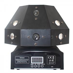Buy cheap 16pcs 3w RGBW Strobe Beam Laser 3in1 Mini LED Mushroom Rotating Moving Head Light product