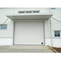 China High Frequency Motor Industrial Sectional Overhead Doors Overhead Garage Doors on sale