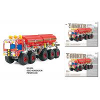 China STEM Learning 438 Pcs Building Blocks Toys For 8 Year Olds Metal Assembly Vehicle on sale