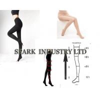 Buy cheap Panty Medical Compression Stocking Hose With Open Toe, 15-18 mmHg Compressions product