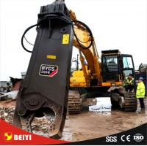 BEIYIの回転式掘削機の移動式鋼鉄破壊のための油圧スクラップのせん断は/タイプを修理しました