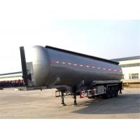 Buy cheap Manufacturer , ISO Tri-axle gasoline crude oil fuel tank semi trailer product