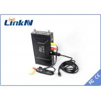 Buy cheap SDI Input Body worn COFDM Transmitter , Audio Video Transmitter for Mobile Video Transmission product