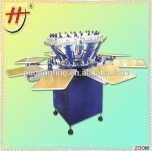 Buy cheap КЭ-одобренная цена по прейскуранту завода-изготовителя Хенгджин принтер экрана дешево 4 цветов ручной для футболки с сушильщиком ХС-1124 product