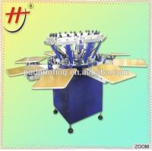 Buy cheap セリウム公認のHengjinの工場価格安く4色ドライヤーHS-1124が付いているTシャツのための手動スクリーン プリンター product