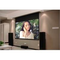 Buy cheap Ceiling Mount Roll Up Electric 100 inch 16 9 projection screen for Education product