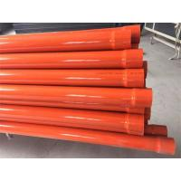 China Three Layer Co - Extrusion PVC Pipe Production Line 75 - 315mm High Impact Strength on sale