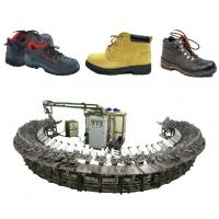 Buy cheap Certified Polyurethane safety boots injection making production line product