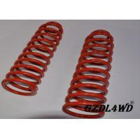 Buy cheap Red 4X4 Leveling Lift Kit Suspension Coil Spring Parts For Jeep Cherokee XJ product