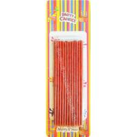 China Way To Celebrate Red Sparkler Birthday Candles A Single Spunk Flames on sale