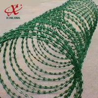 Buy cheap Galvanized CBT-65 BTO-22 Razor Barbed Wire High Security Barbed Wire product