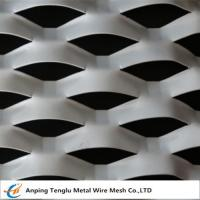 Buy cheap Expanded Aluminum /Aluminum Expanded Metal Mesh In Flat and Raised Forms For Curtain Wall product