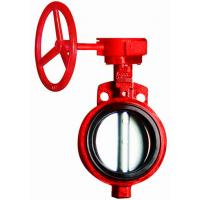Worm Gear Wafer High Performance Butterfly Valves Used In Chemical