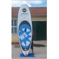 Inflatable Windsurf Board Wtih Customized Pad , Environment Concerned Kids Paddle Board