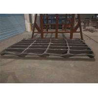 China High Manganese Steel Stone Crusher Jaw Plate Casting Processing on sale
