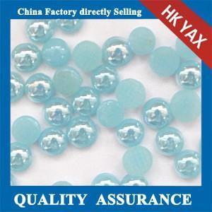 Buy cheap Korean flat back pearl hotfix, China hotfix flat back pearl, wholesale flat back hotfix pe product