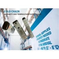 Quality ABS USB Temperature Data Logger for Cold Chain And Refrigerator Led Alarm for sale