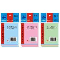 China Color Film Sticky Note Pad on sale