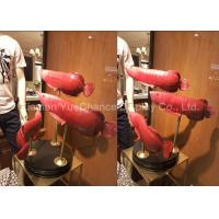 Buy cheap Store Decorative Window Display Decorations Red Resin Fish Statue Good Looking product