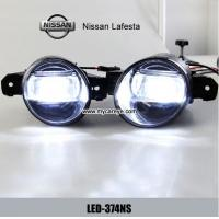 China Nissan Lafesta car front fog light advance auto parts DRL driving daylight wholesale