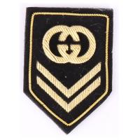 China Goverment Embroidered Sew On Badges Embroidered Jacket Patches With Logo wholesale