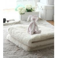 Buy cheap Hand Tufted White Aera Rug Plush Carpets From China Carpets Factory product
