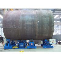 Buy cheap Universal Adjust Hydraulic Fit Up Turning Rolls With Low Noise For Tower Production Line product