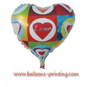 Buy cheap Foil la manufactura del globo del htballoon, globo de la hoja del mensaje product