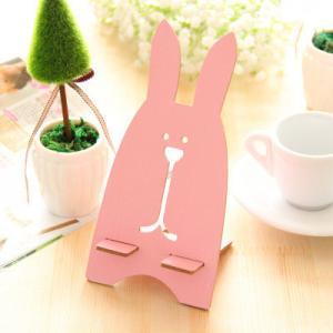 76g Rabbit Shaped Wooden Universal Desktop Magnet Holder for Mobile ...
