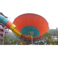Buy cheap Tornado Water Slide , Customized Fiberglass Aqua Park Slide , Water Park Attractions product