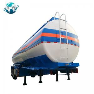 Buy cheap stainless steel  Fuel Oil Diesel Petrol water storage Tanker Semi truck  Trailer for sale product