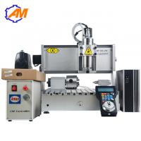 Buy cheap AMAN high quality mini cnc carving machine 3040 4 axis  wood engraving carving cutting machine for sale product