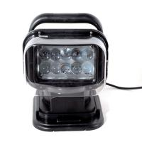 China 50 Watt high intensity LEDs, LED Work Light ,With remote control & a car cigarette lighter LED Search light with 7 inch on sale