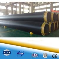 Polyurethane foam heat resistant pipe steel pipe for district heating steel pipe in pipe