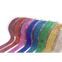 Buy cheap Stretch Velvet Present Wrapping Accessories 1 Inch Glitter Elastic Metallic Costume Decorations product