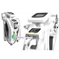 China 3 Handle IPL RF Hair Removal With Wrinkle Remove , Multifunctional Beauty Machine on sale
