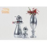 Buy cheap Small Mosaic Glass Fiberglass Apple With Square Base Sculpture Decoration product