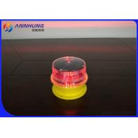 Buy cheap Built - In Photocell Solar Obstruction Light Steady - Burning Mode For Power Plant Chimneys from wholesalers