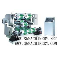 China Automatic LFQ-A Series Vertical Slitting Rewinding Machine with PLC for plastic film on sale