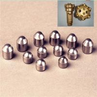 Buy cheap High Purity Cemented Tungsten Carbide Inserts Drill Button Bit Face Min HW9 from wholesalers