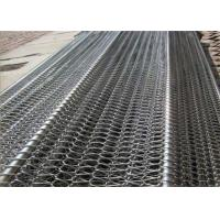 Buy cheap High Durability Compound Balanced Belt , Metal Mesh Conveyor Belt For Snack Foods product