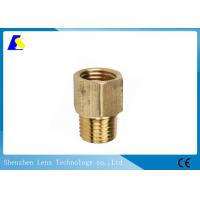 Buy cheap Brass Coupler Straight Cleaning Rod Adapters Quick - Connect Hydraulic Fitting product
