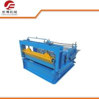 Buy cheap PPGI / GI Steel Flat Coil Cut To Length Line Machine For Roof Panel 8-12m/Min Speed from wholesalers