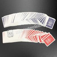 Buy cheap Bar Code Marked Modiano Adjara Plastic Playing Cards For Poker Cheat Device / Analyzer product